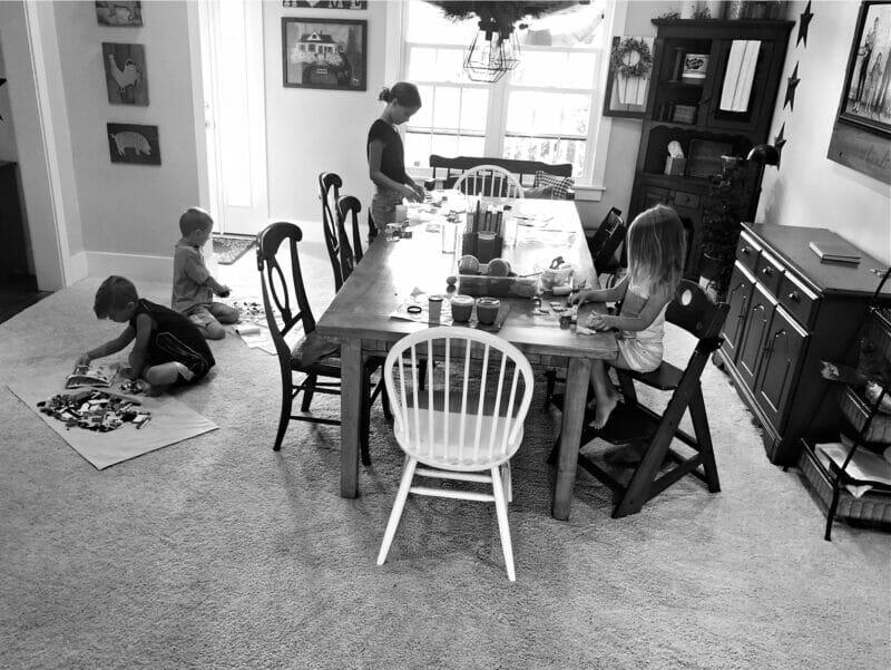 crafts in the kitchen