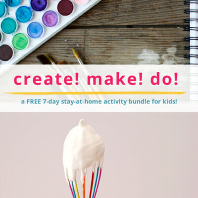 create make do activity bundle for kids
