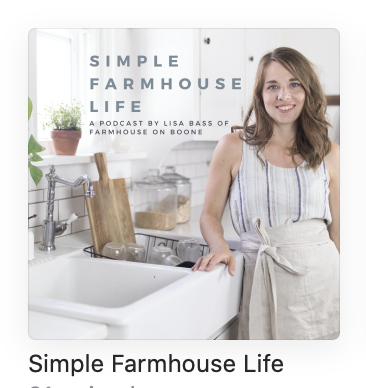 simple farmhouse life podcast