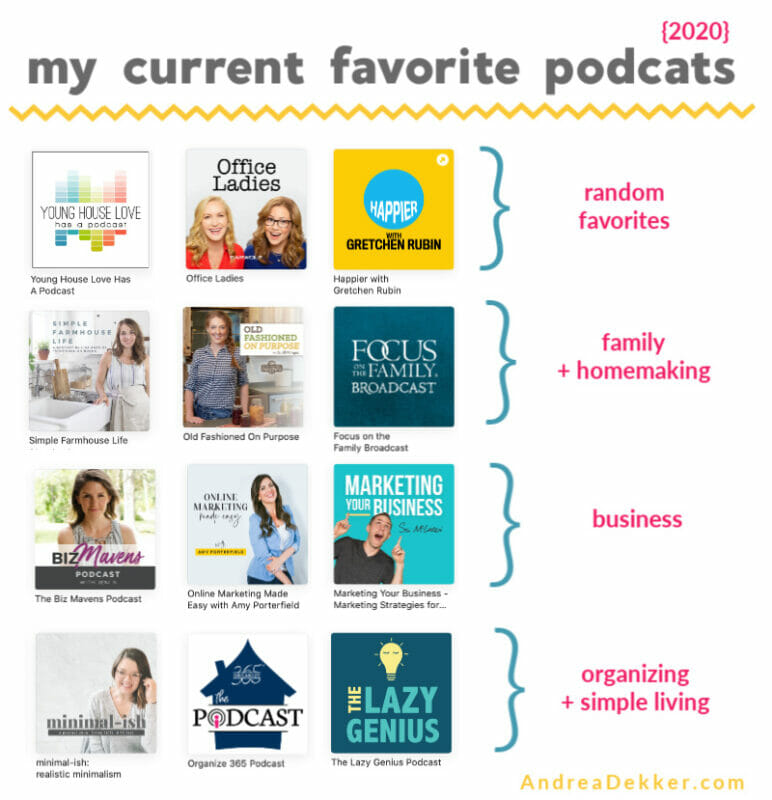 my favorite podcasts in 2020