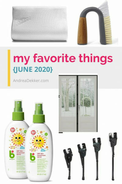 my favorite things june