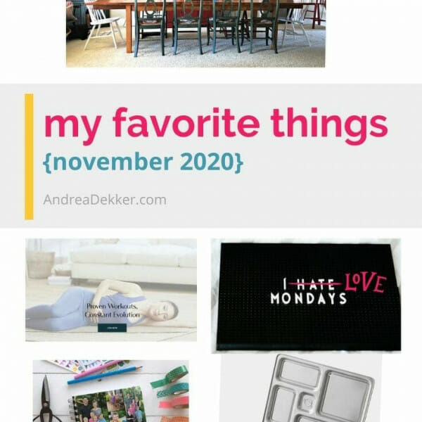 favorite things november