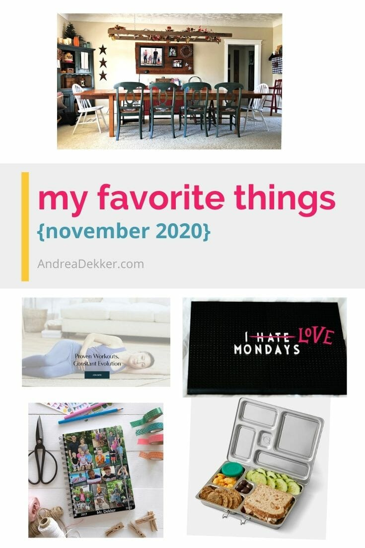 Check out my newest list of favorite things (and enter to win a giveaway of my most favorite planner!) via @andreadekker