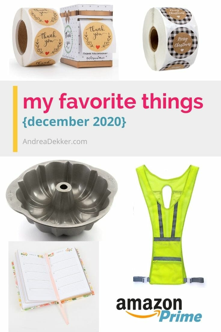 I'm sharing a handful of new Favorite Things this month — including many great gift ideas (maybe even for yourself!) via @andreadekker