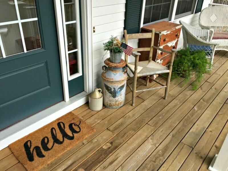 front porch picnics