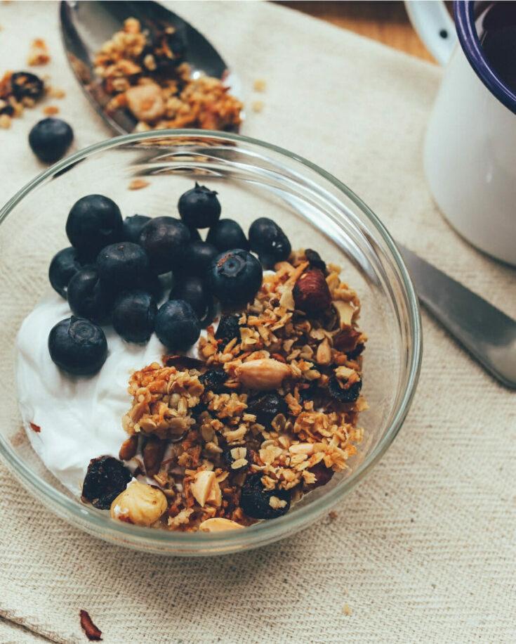whole grain granola