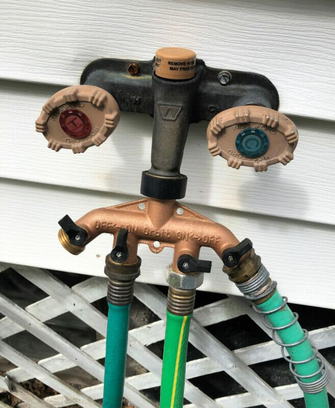 4-way hose splitter