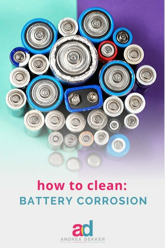 6 steps to clean battery corrosion