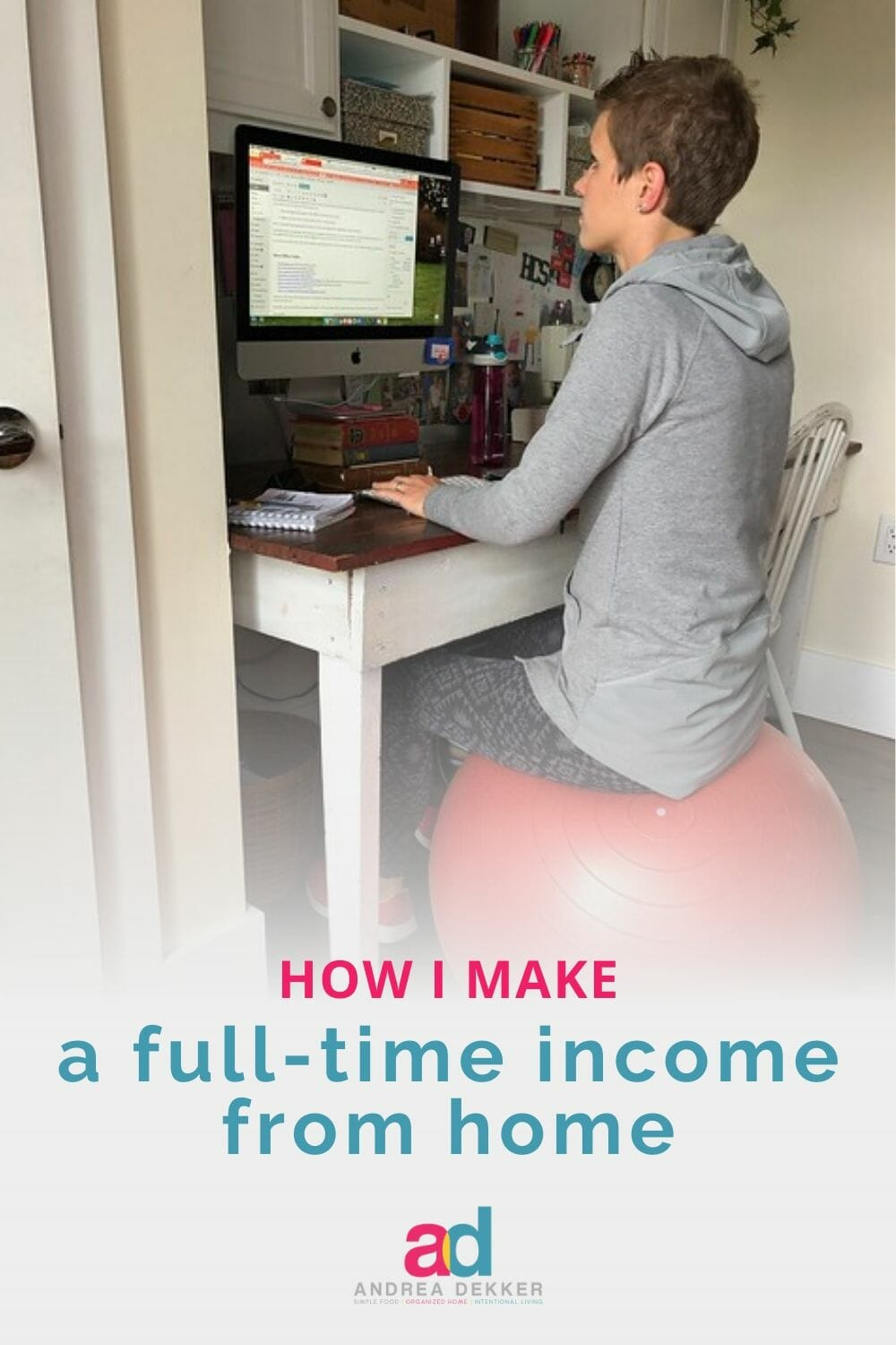 The online world has huge income potential. If you've ever wondered how to make money working online from home, this post is sure to be a helpful resource! Read more about my work-from-home journey over the last 13 years, as well as some of my favorite resources to help YOU make money working online! via @andreadekker
