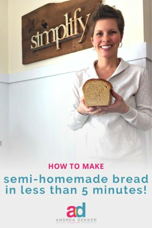 how to make semi-homemade bread