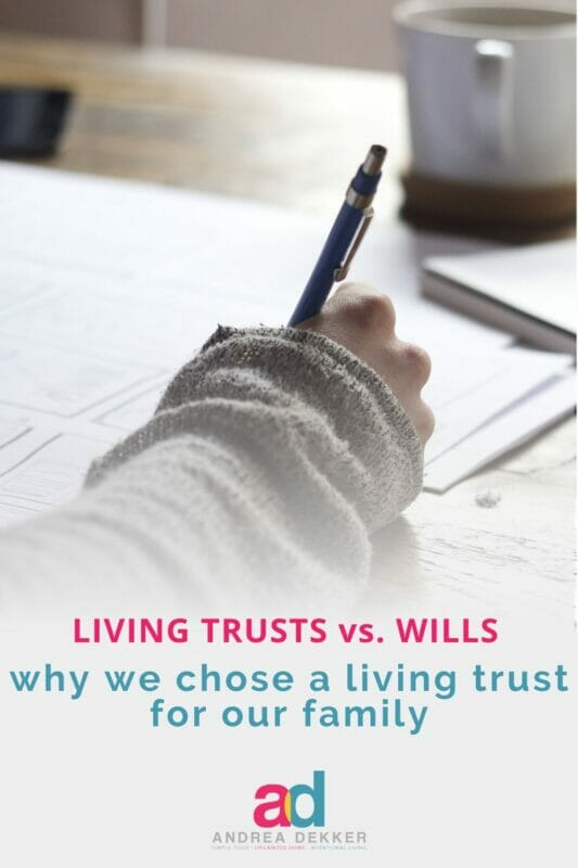 how to set up a living trust
