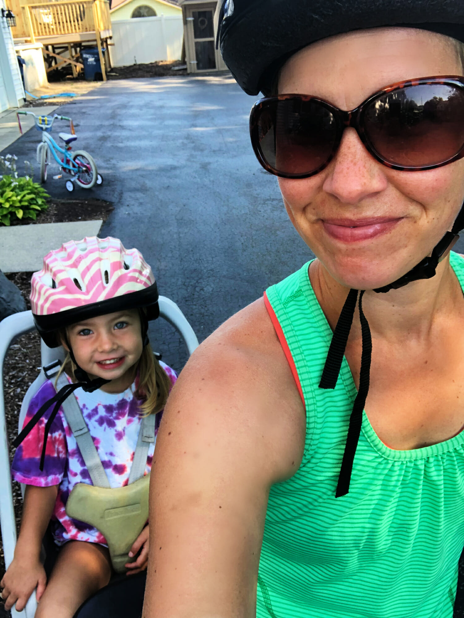 bike ride with mom