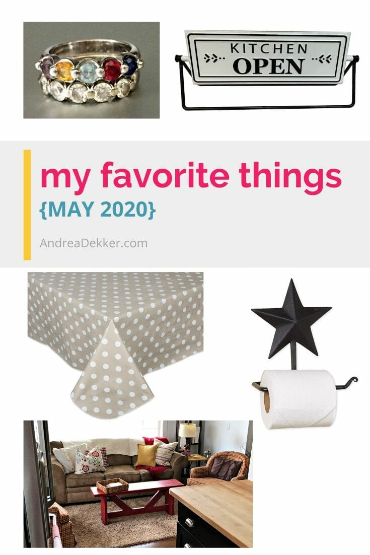 These spring favorites would be perfect for Mother's Day gifts or wedding gifts!   via @andreadekker