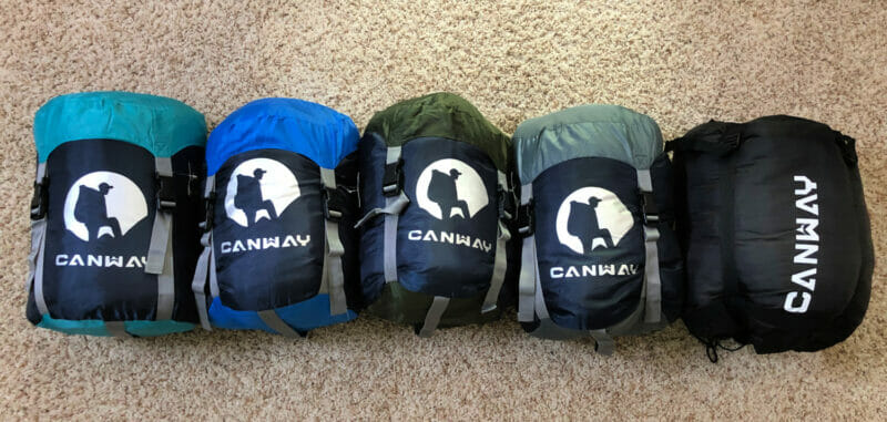 new sleeping bags
