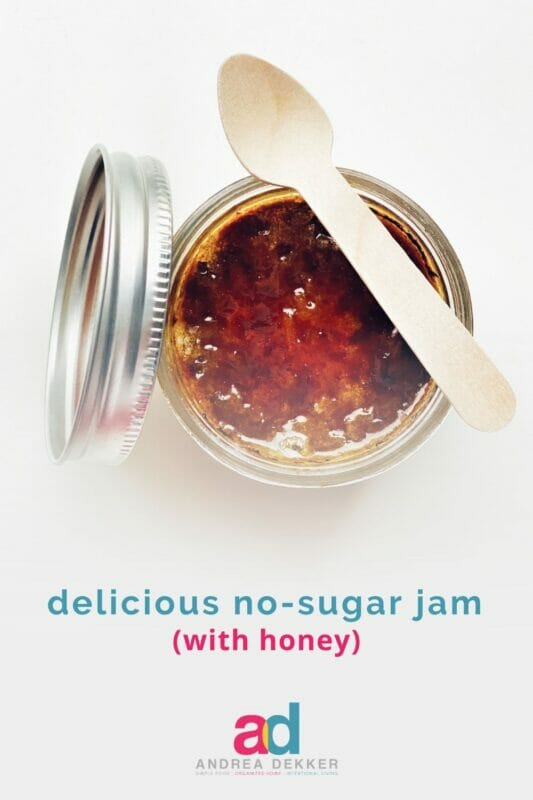 no sugar jam recipe