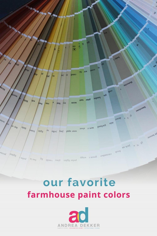 favorite farmhouse paint colors