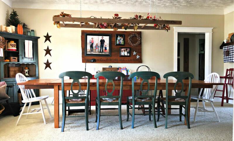 our new farmhouse table