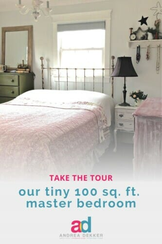 our tiny master bedroom tour