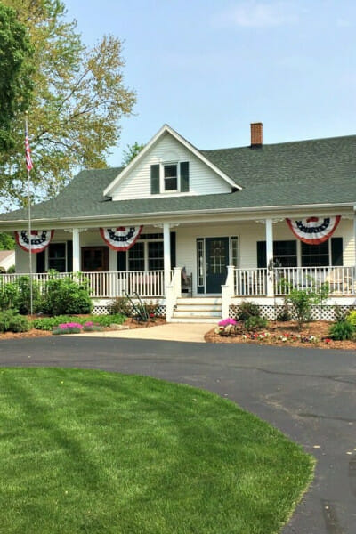 our patriotic home