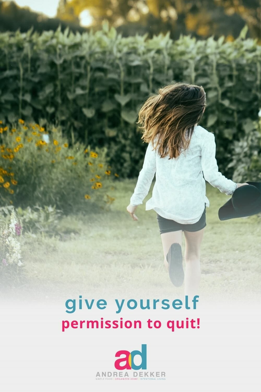 Less stress, less overwhelm, less guilt… more time, more joy, more freedom. These are just a few of the benefits you'll experience when you give yourself permission to quit a tradition that no longer works for your season of life. via @andreadekker