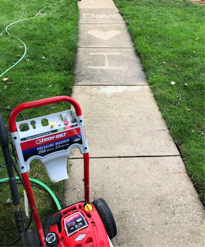 our favorite power washer