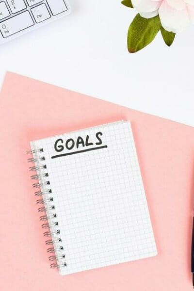 powerful proof of written goals