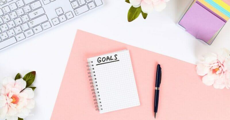 powerful proof of written goals