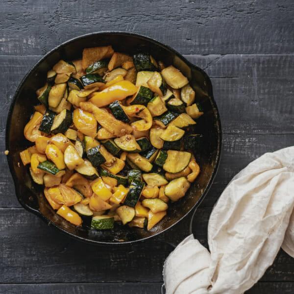 reheat roasted veggies