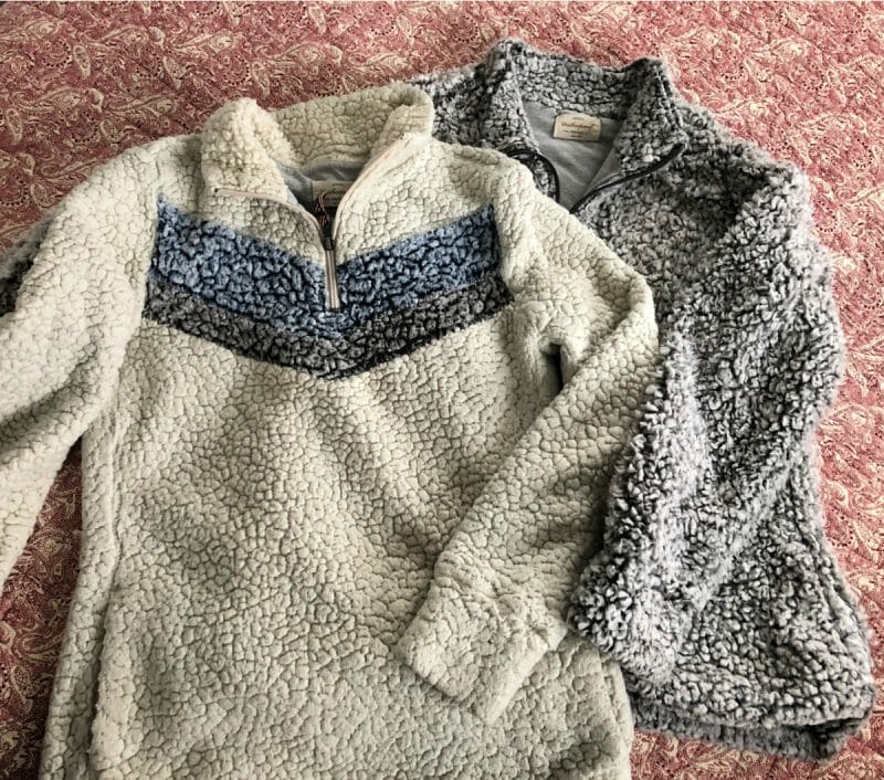 sherpa sweatshirts