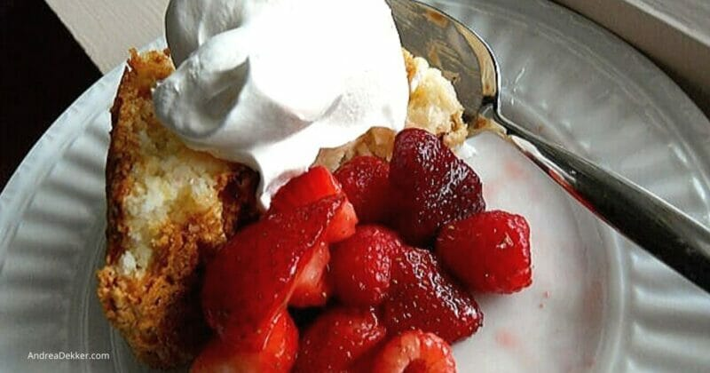 simple angel food cake
