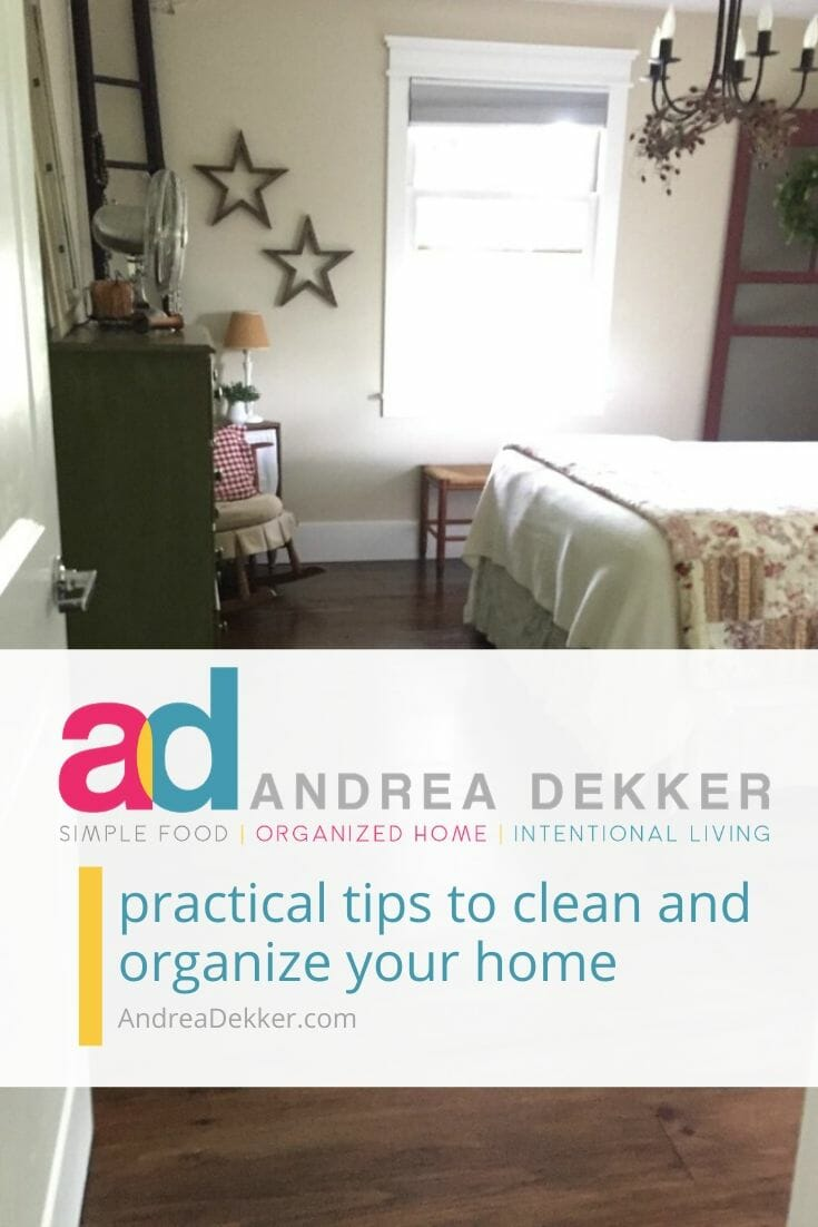 Whether you're drowning in clutter or simply looking for a few practical tips to clean and organize your home, you'll find it all at AndreaDekker.com! -- the online home for seekers of simple organized living! The pages of this blog hold a seemingly endless amount of inspiration to simplify, organize, clean, declutter, decorate, and beautify your home and garden. via @andreadekker