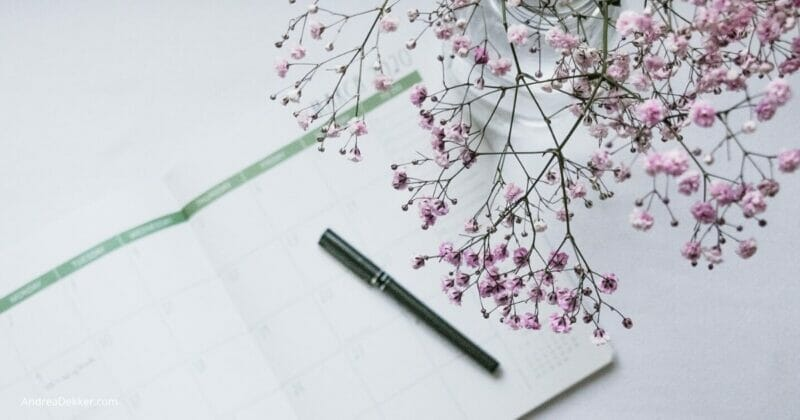 simplify your days with routines