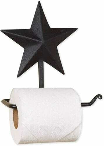 star toilet paper holder
