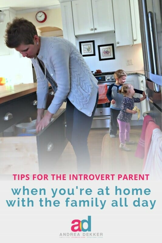 sanity saving tips for introvert parents
