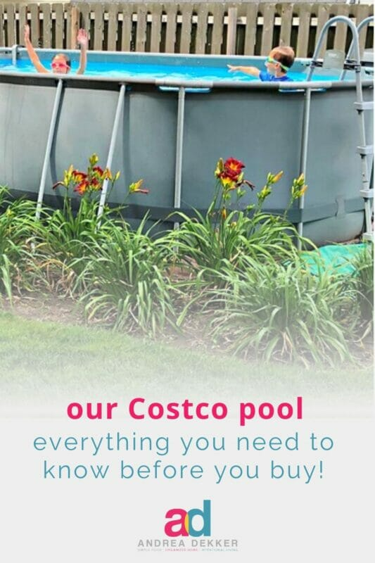 what to know when buying a costco pool