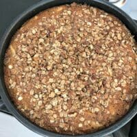 whole grain apple cake