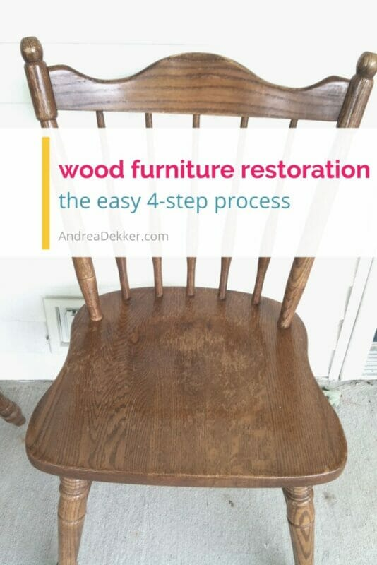 wood furniture restoration